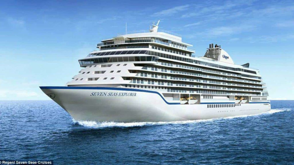 worlds most expensive cruise ship