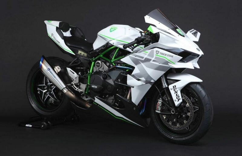 Kawasaki Ninja H2R is the fastest bike in the world 2021