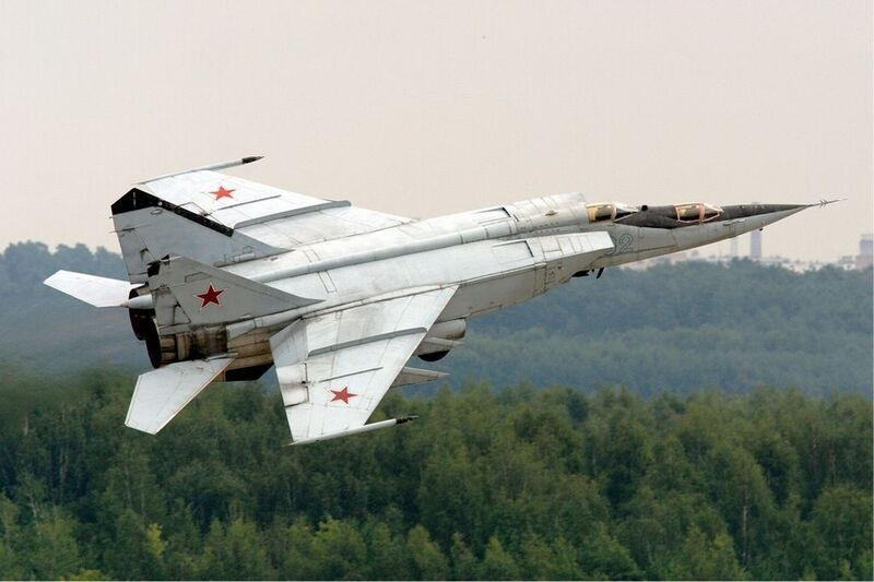 MiG 25 is the fourth fastest military jet 2021