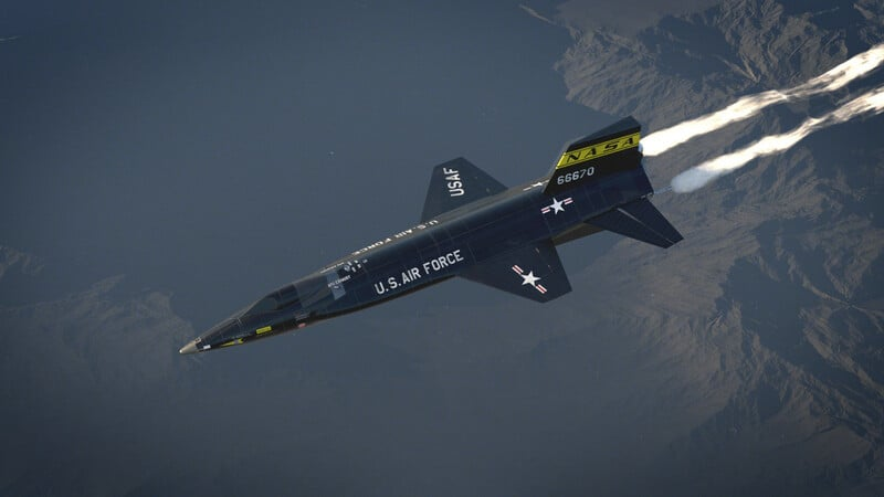 what is the world's fastest plane: North American X-15