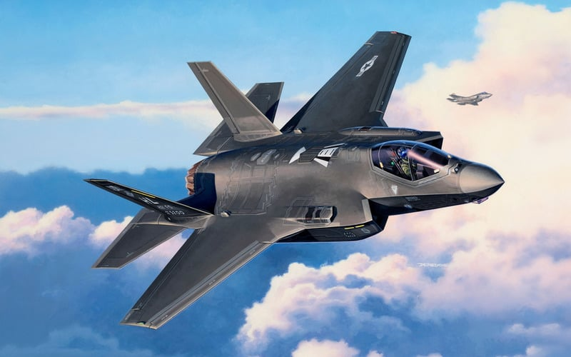 Lockheed Martin F-35 Lightning II is newest US fighter jet