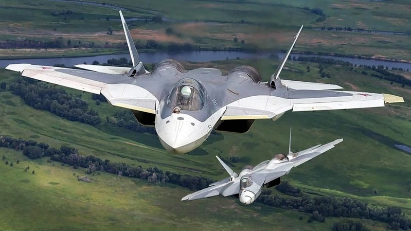 Sukhoi Su-57 is the most powerful fighter jet in the world