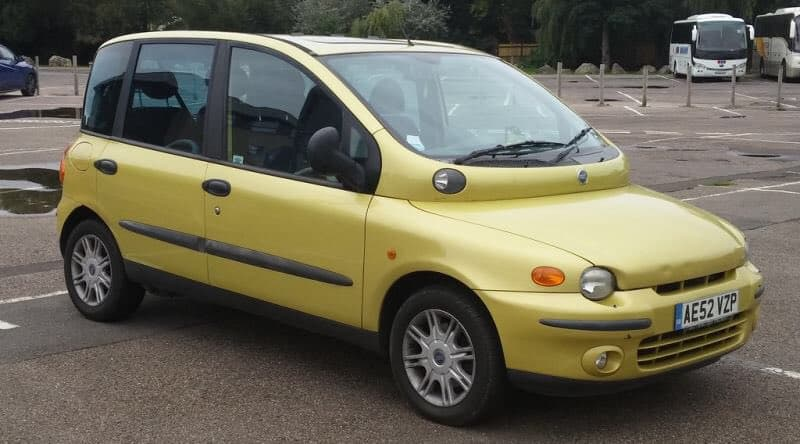 Fiat Multipla is the ugliest car in the world