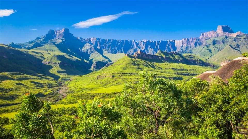 longest continental mountain range in the world